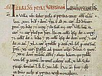 Example of Domesday Book text