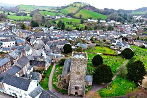 Bampton in Devon