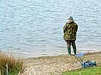 Fishing at Clatworthy