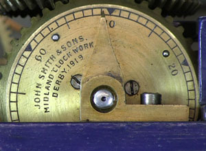 Church clock - internal dial 1919