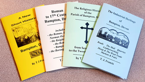 History of Bampton booklets