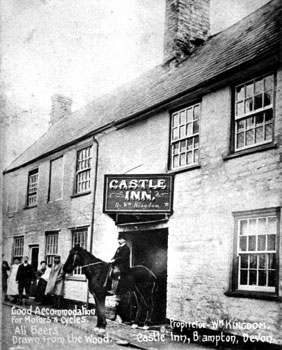 Castle Inn Bampton 1910