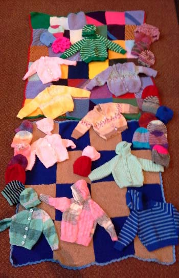 Knit and natter Jan. 2015