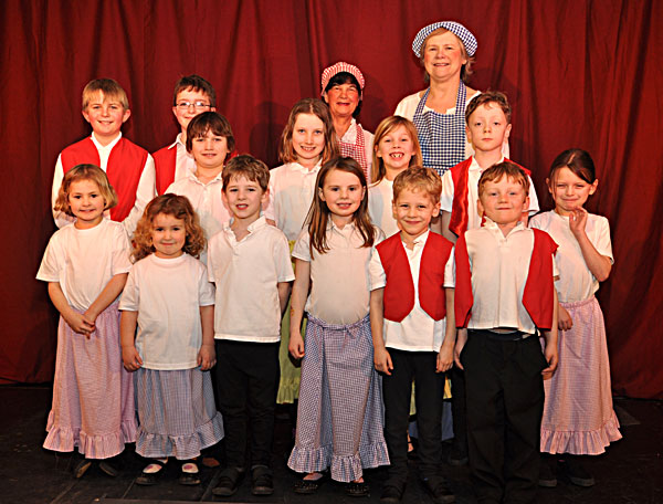 Dick Whittington - the kids!