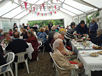 Garden Party for LARCS
