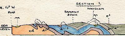 Bampton section map