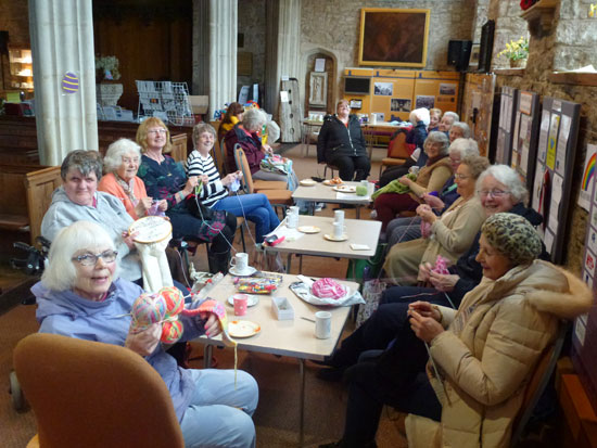 Knit and Natter Group April 2018