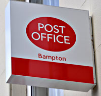 Bampton Post Office